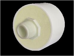 ADAPTADOR MACHO PRE-AISLADO PVC SCH 40 PROTECCION PVC